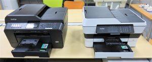 「MFC-J6710」と「MFC-J6973」のプリンタを比較